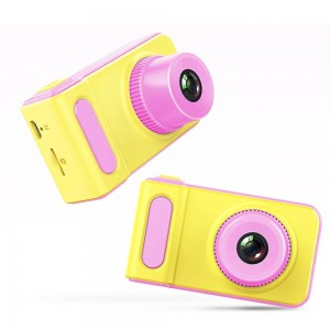 Детский цифровой фотоаппарат Kids Camera розовый