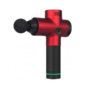 Перкуссионный ударный массажер пистолет MINIPRO M01 Red