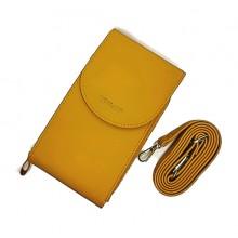 Сумка-кошелек PL993-6  Желтая