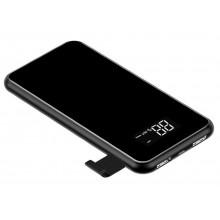 Внешний аккумулятор с беспроводной зарядкой Baseus 8000mAh  PPALL-EX01 black