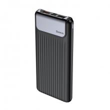 Внешний аккумулятор Baseus  Thin Digital Quick Charge 10000mAh Черный
