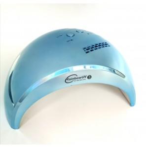 Лампа для ногтей (для маникюра) светодиодная UV/LED RainBow 3 голубая