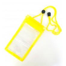 Водонепроницаемый чехол для телефона RNB-4 желтый