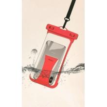 Водонепроницаемый чехол для телефона Rock RST1034 red