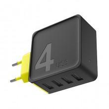 Зарядное устройство Rock  RWC0236  4 USB   4A Черный