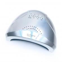 Лампа для ногтей (для маникюра) светодиодная UV/LED SUN ONE RAINBOW серебро