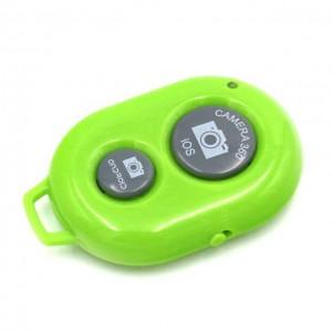 Пульт управления фотокамерой смартфона Bluetooth-кнопка Android и iOS Зеленый