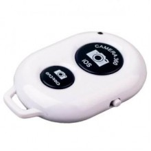 Пульт управления фотокамерой смартфона Bluetooth-кнопка Android и iOS Белый