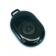 Пульт управления камерой смартфона Bluetooth-кнопка Android и iOS Черный