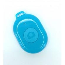 Пульт управления камерой смартфона Bluetooth-кнопка Android и iOS Голубой