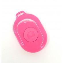 Пульт управления камерой смартфона Bluetooth-кнопка Android и iOS Розовый