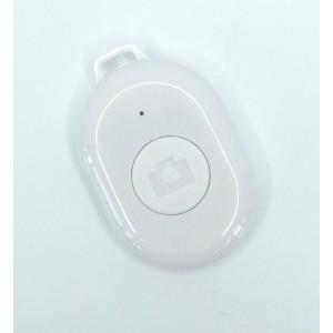 Пульт управления камерой смартфона Bluetooth-кнопка Android и iOS Белый