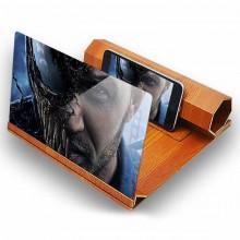 3D LUX  увеличитель экрана смартфона светло-коричневый