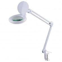 Лампа-лупа косметологическая светодиодная на струбцине 120LM-1