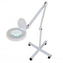 Лампа-лупа косметологическая светодиодная напольная на штативе 120LM-3