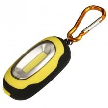 Фонарик-брелок с магнитом 314-2 желтый