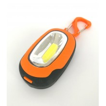 Фонарик-брелок с магнитом 5891-2 оранжевый