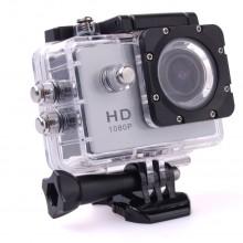 Экшн-камера Sport Cam Full HD 1080p Водонепроницаемая  silver