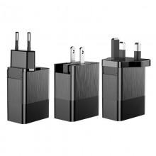 Универсальное  зарядное устройство Baseus  3.4A  Max   (CCALL-GJ01)  черный