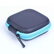 Чехол-кейс для наушников  ch2-3 черный  голубым