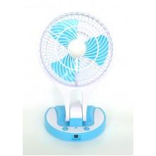 Вентилятор настольный портативный с подсветкой  HT-5580-1