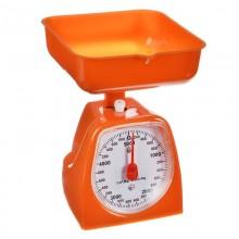 Весы кухонные механические  KV2000-1 оранжевые