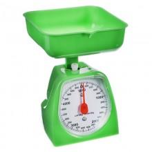 Весы кухонные механические KV2000-2 зеленые