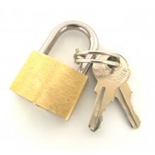 Замок на чемодан с ключами KZ-01