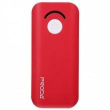 Внешний аккумулятор Remax Proda Jane PPL-8  6000 mAh  красный