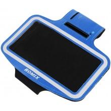 Чехол для телефона на руку для бега  Romix  RH07  синий