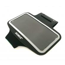Чехол для телефона на руку для бега Romix RH07-3  черный