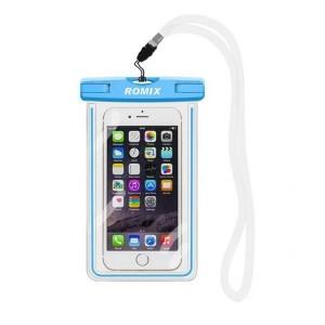 Водонепроницаемый чехол для телефона Romix RH11-2  голубой