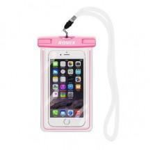 Водонепроницаемый чехол для телефона Romix RH11-4  розовый