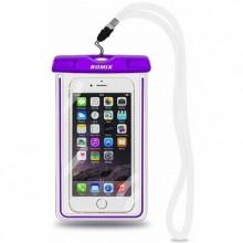 Водонепроницаемый чехол для телефона Romix RH11-5  фиолетовый