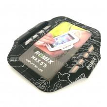 Чехол для телефона на руку для бега с LED подсветкой Romix RH19-2 черный с серым