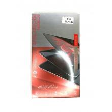 Защитное стекло 6D для Huawei Honor P30 с черной рамкой