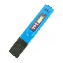 Портативный цифровой тестер воды  TDS-3  синий
