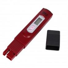 Портативный цифровой тестер воды TDS-3-3 бордовый