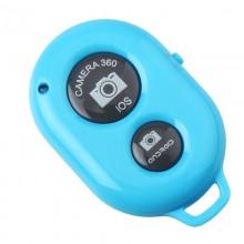 Пульт управления фотокамерой смартфона Bluetooth-кнопка Android и iOS Голубой