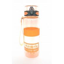 Спортивная бутылка для воды 1000мл 0779-1 оранжевая