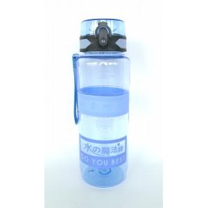 Спортивная бутылка для воды 1000мл 0779-3 голубая