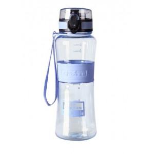 Спортивная бутылка для воды 400 мл 0780-1 голубая
