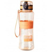 Спортивная бутылка для воды 400 мл 0780-2 оранжевая