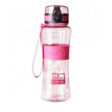Спортивная бутылка для воды 400 мл 0780 розовая