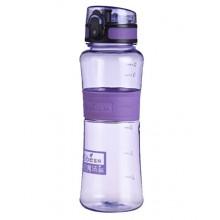 Спортивная бутылка для воды 400 мл 0780-4 фиолетовая