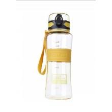 Спортивная бутылка для воды 400 мл 0780-5 желтая