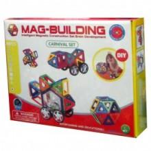 Магнитный 3D-конструктор MAG BUILDING (мэг билдинг) , 48 деталей.  99031