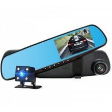 """Зеркало-видеорегистратор с камерой заднего вида Vehicle Blackbox DVR 3.6"""""""
