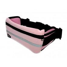 Сумка на пояс для бега 808-8 Светло-розовая