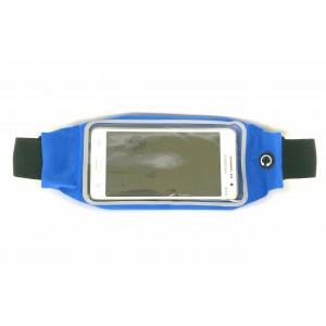 Сумка на пояс для бега Ultra Slim синяя
